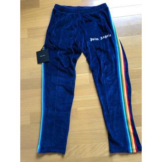 Supreme - Palm Angels Rainbow Track Pants L ベロア