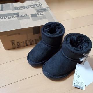 アンパサンド(ampersand)の新品アンパサンドムートンブーツ13cm(ブーツ)