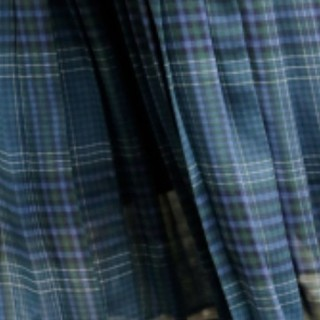 LOWRYS FARM - LOWRYS FARM チェックプリーツスカート