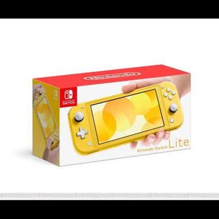 Nintendo Switch - 新型 任天堂スイッチ lite イエロー 新作