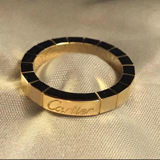 カルティエ(Cartier)のカルティエ ラニエール リング8号サイズYG(リング(指輪))