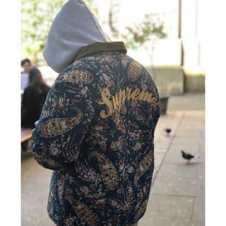 シュプリーム(Supreme)の新品 19AW Supreme Quilted Paisley Jacket (ブルゾン)