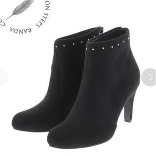 RANDA - 日曜まで3500⇒3200RANDAスタッズショートブーツ 美品♥ サイズs