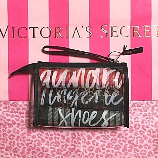 Victoria's Secret(ヴィクトリアズシークレット)のVICTORIA'S SECRET  巾着・ポーチセット レディースのファッション小物(ポーチ)の商品写真