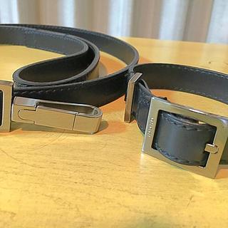 グッチ(Gucci)のGUCCI  犬用カラーとリードセット(リード/首輪)