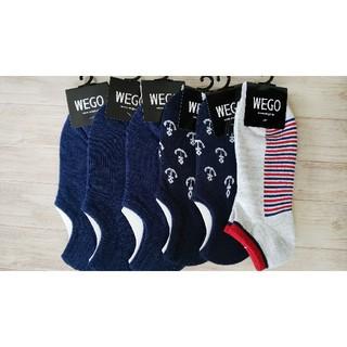 ウィゴー(WEGO)の14【新品】wego メンズ ソックス 6足(ソックス)