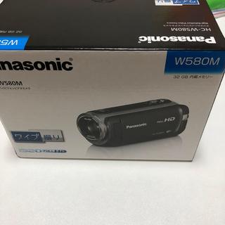 Panasonic - パナソニック ビデオカメラ W580M ブラウン HC-W580M-T