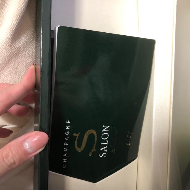 Dom Pérignon(ドンペリニヨン)のサロン SALON 2007 シャンパン 箱付き 食品/飲料/酒の酒(シャンパン/スパークリングワイン)の商品写真