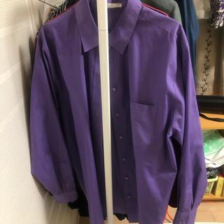 ジョンローレンスサリバン(JOHN LAWRENCE SULLIVAN)のパープル ビックシャツ(シャツ)