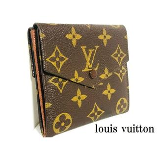 LOUIS VUITTON - 超美品 正規品 ヴィトン モノグラム W ホック  財布 定価5.9万