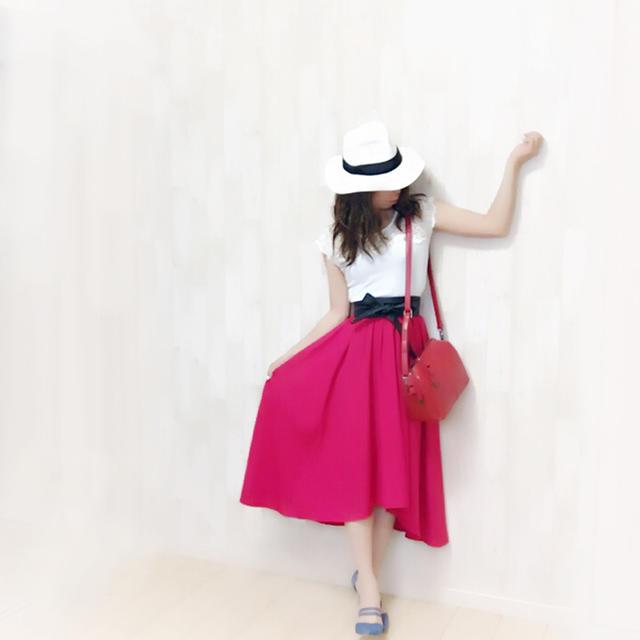 INGNI(イング)の新品未使用★INGNI★綺麗なライン〜アシメントリースカート〜 レディースのスカート(ロングスカート)の商品写真
