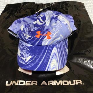 アンダーアーマー(UNDER ARMOUR)の【新品】アンダーアーマー   ランニング/ウォーキング キャップ(その他)