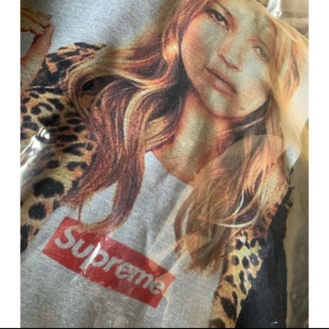 Supreme(シュプリーム)のケイトモス  ボックスロゴ Tシャツ 黒 Lサイズ メンズのトップス(Tシャツ/カットソー(半袖/袖なし))の商品写真