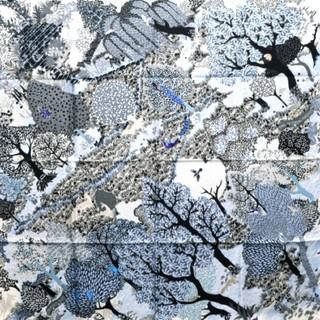 Hermes - 【新品】エルメス カレ90 大判 スカーフ 英国式庭園にて
