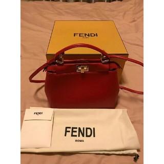FENDI - 新品同様 ❤️オフ FENDI フェンディ ミニピーカブー
