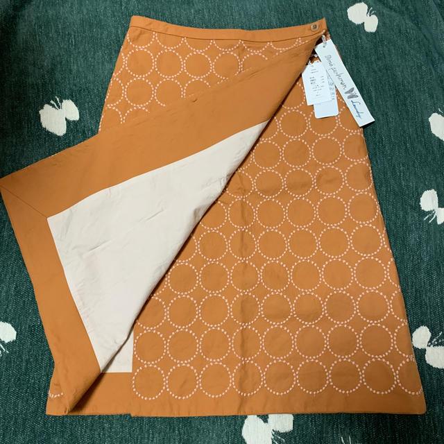 mina perhonen(ミナペルホネン)のミナペルホネン tambourine スカート レディースのスカート(ひざ丈スカート)の商品写真