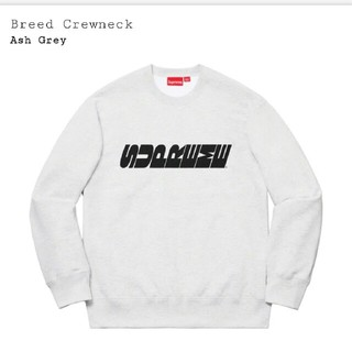 Supreme - supreme  Breed Crewneck  登坂 着用