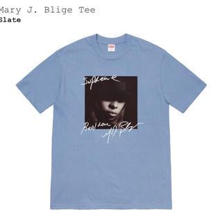 Supreme - Mサイズ Supreme Mary J blige Tee slate