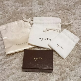 アガット(agete)のアガット 袋&空箱(その他)