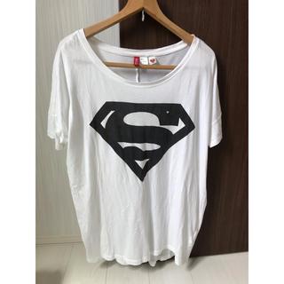 エイチアンドエム(H&M)のTシャツロング/divided(Tシャツ(半袖/袖なし))
