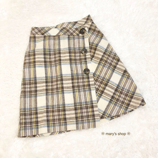 Rirandture - Rirandture ♡ オータムウールチェックAラインスカート