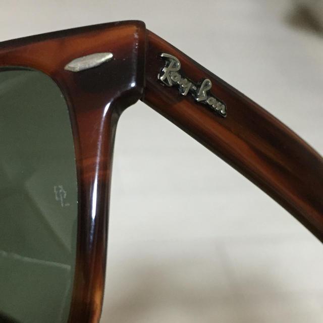 Ray-Ban(レイバン)の《レア》RayBan ウェイファーラー2 ボシュロム B&L USA製 メンズのファッション小物(サングラス/メガネ)の商品写真