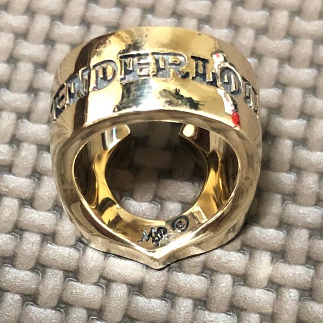 TENDERLOIN(テンダーロイン)の専用 メンズのアクセサリー(リング(指輪))の商品写真