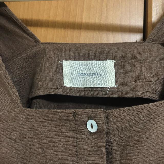 TODAYFUL(トゥデイフル)のブラウス レディースのトップス(シャツ/ブラウス(半袖/袖なし))の商品写真