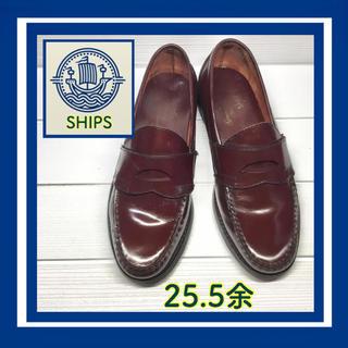 シップス(SHIPS)のSHIPSローファー  バーガンディー25.5余(ドレス/ビジネス)
