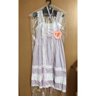 BABY,THE STARS SHINE BRIGHT - baby タータンチェックベビードールジャンパースカート