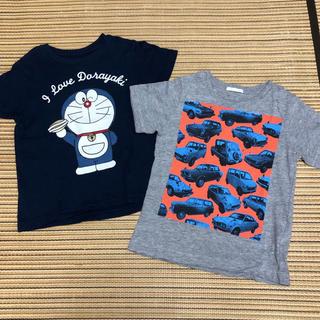 GU - ユニクロ ジーユー 半袖 Tシャツ 2枚セット 110センチ
