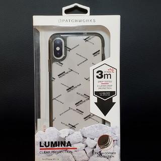 iPhone XS/X ケース クリア PATCHWORKS LUMINA(iPhoneケース)
