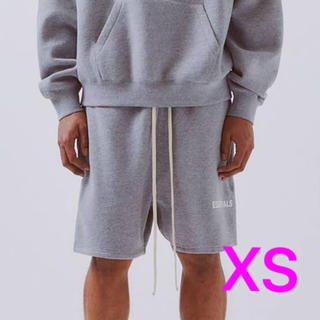 FEAR OF GOD - fog essentials short pants gray xs