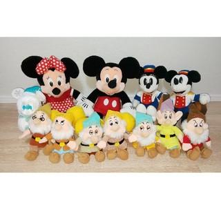 Disney - ディズニー ぬいぐるみ  ミッキー&ミニー 七人の小人