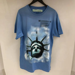 OFF-WHITE - 18AW Off-White Liberty 自由の女神 Tシャツ