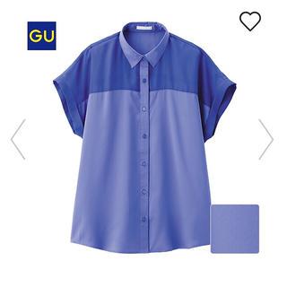 ジーユー(GU)のジーユー エアリーブラウス ユニクロ アースミュージック&エコロジー(シャツ/ブラウス(半袖/袖なし))