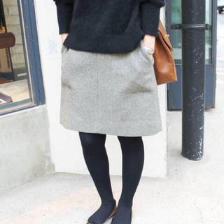 IENA SLOBE - SLOBE IENA メルトン台形スカート