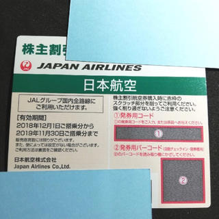 JAL 株主優待券 2枚