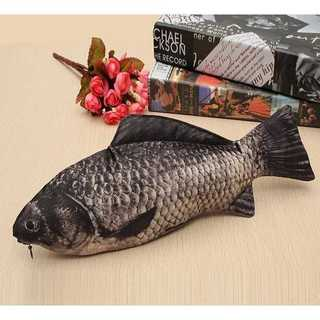 リアルなお魚ペンケース 魚ポーチ リアルプリント お財布 面白グッツ