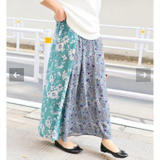 IENA - 新品☆ IENA Deveaux フラワープリントスカート 38