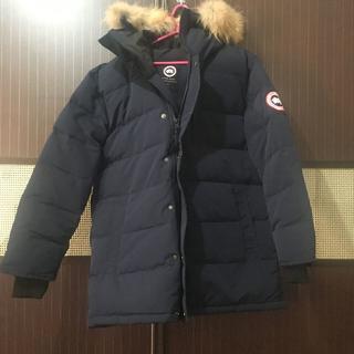 カナダグース(CANADA GOOSE)のカナダグース/マッケンジー ネイビー mサイズ(ダウンジャケット)