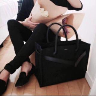 DEUXIEME CLASSE - candi tokyo it bag トートバッグ キャンバス  黒
