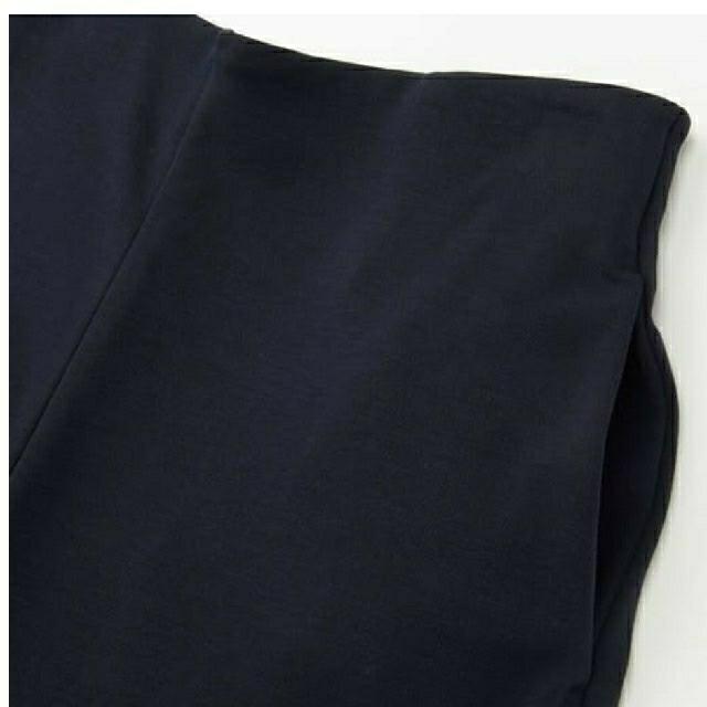 UNIQLO(ユニクロ)のUNIQLO (ユニクロ) 新品•未使用 ✳ポンチフレアクロップドパンツ✳ レディースのパンツ(カジュアルパンツ)の商品写真
