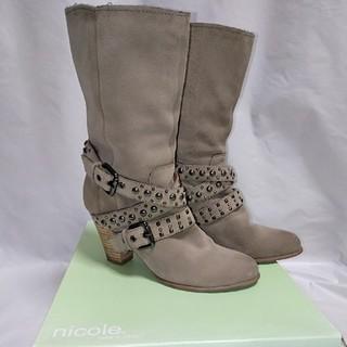 ニコル(NICOLE)のレザー ブーツ 本革(ブーツ)