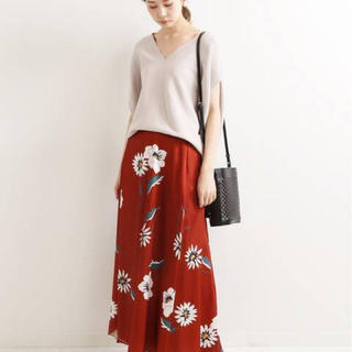 IENA - DEVEAUXフラワープリントスカート