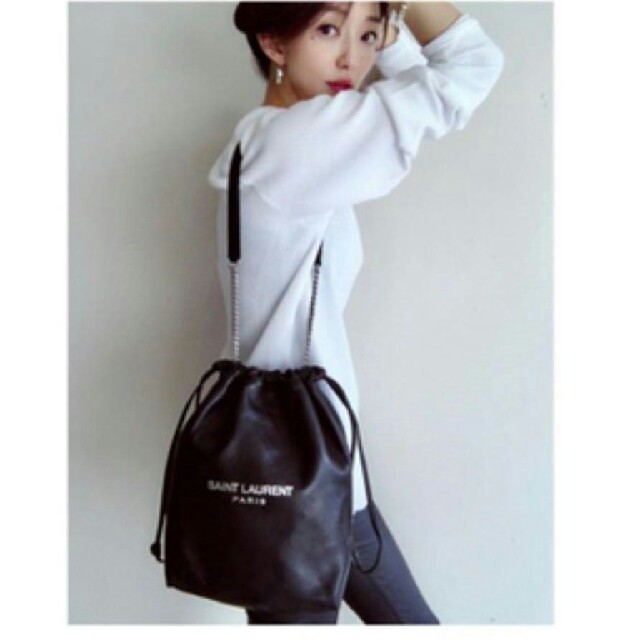 Saint Laurent(サンローラン)の100%本物 サンローラン テディバッグ レディースのバッグ(ショルダーバッグ)の商品写真