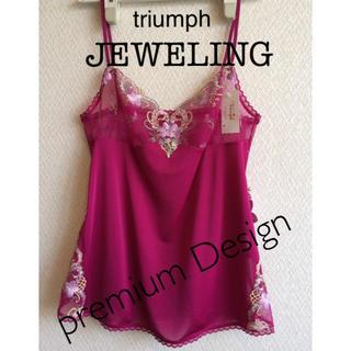 Triumph - 【新品タグ付】triumph/JEWELINGキャミソール80