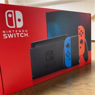 Nintendo Switch - 新型 Nintendo Switch ネオンブルー 新品未使用