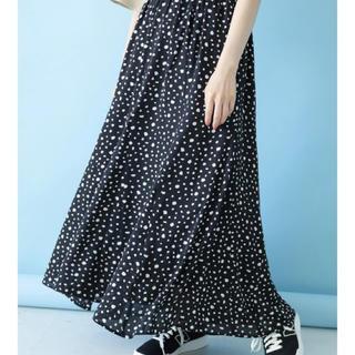 綺麗フレアスカート