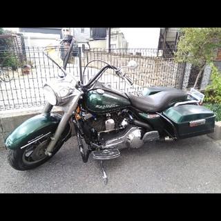 ハーレーダビッドソン(Harley Davidson)の交換可!格安 ハーレー エボ 6速化!ロードキング FLHR 1998年式(車体)